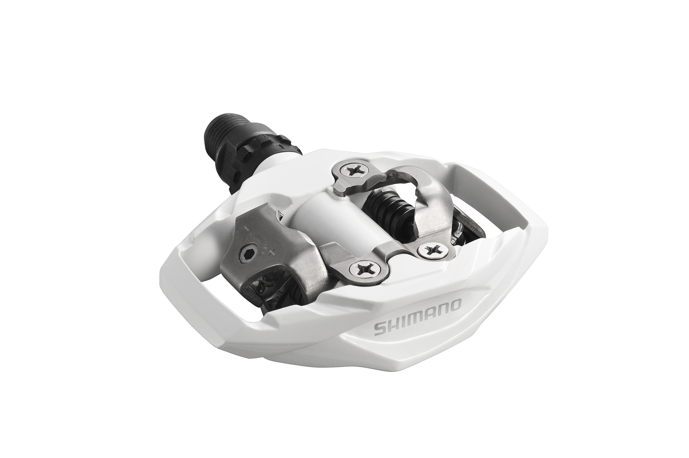 Shimano pedály PD-M530 bílé + zarážky