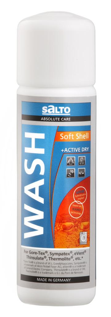 Salto Softshell Wash 250 ml prací prostředek
