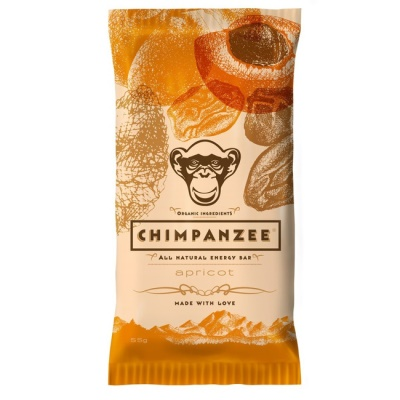 CHIMPANZEE -  ENERGY BAR Apricot 55g