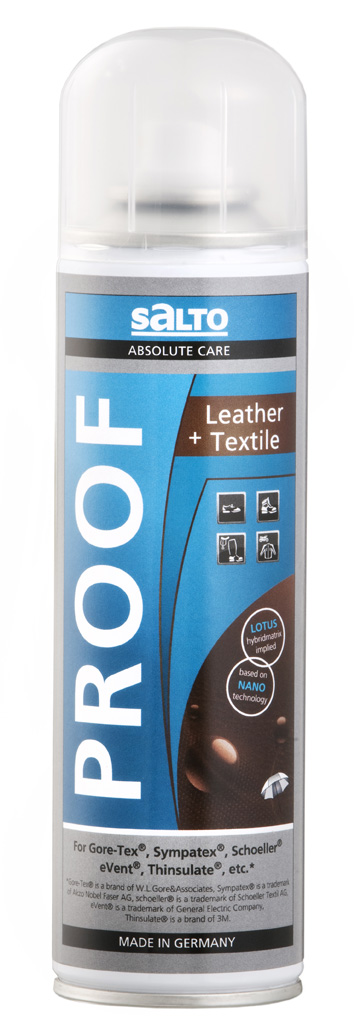 Salto Leather Textile Proof 250 ml impregnace