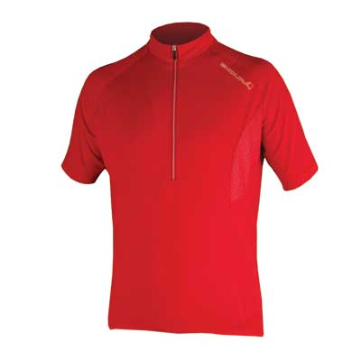 Endura Xtract S/S Jersey: Red XL