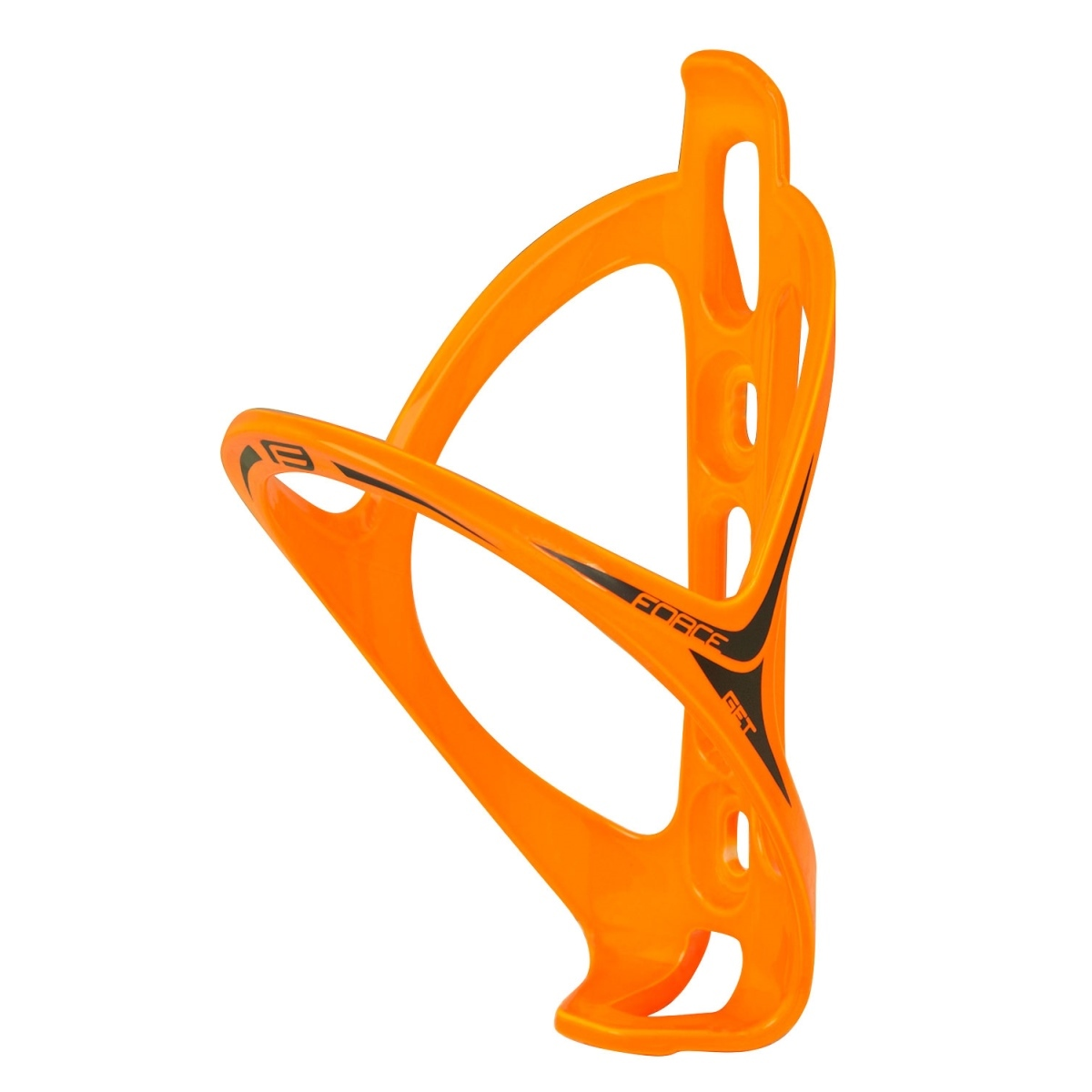 Force košík láhve Get plastový, oranžový lesklý