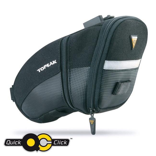 Topeak brašna podsedlová Aero Wedge Pack Large s Quick Click