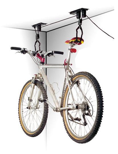 Max1 držák kola na strop kladkový držák kola na strop Velo