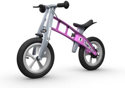 FirstBIKE - STREET Pink