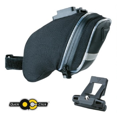 TOPEAK brašna podsedlová AERO WEDGE iGlow Small s QuickClick