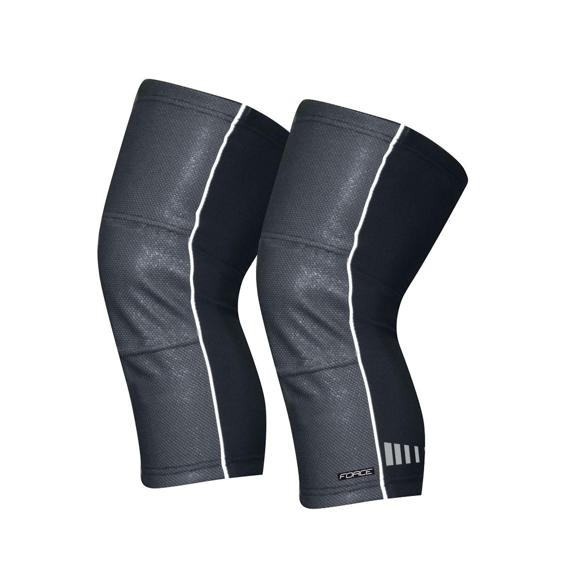 Force návleky na kolena Wind-X černé XL