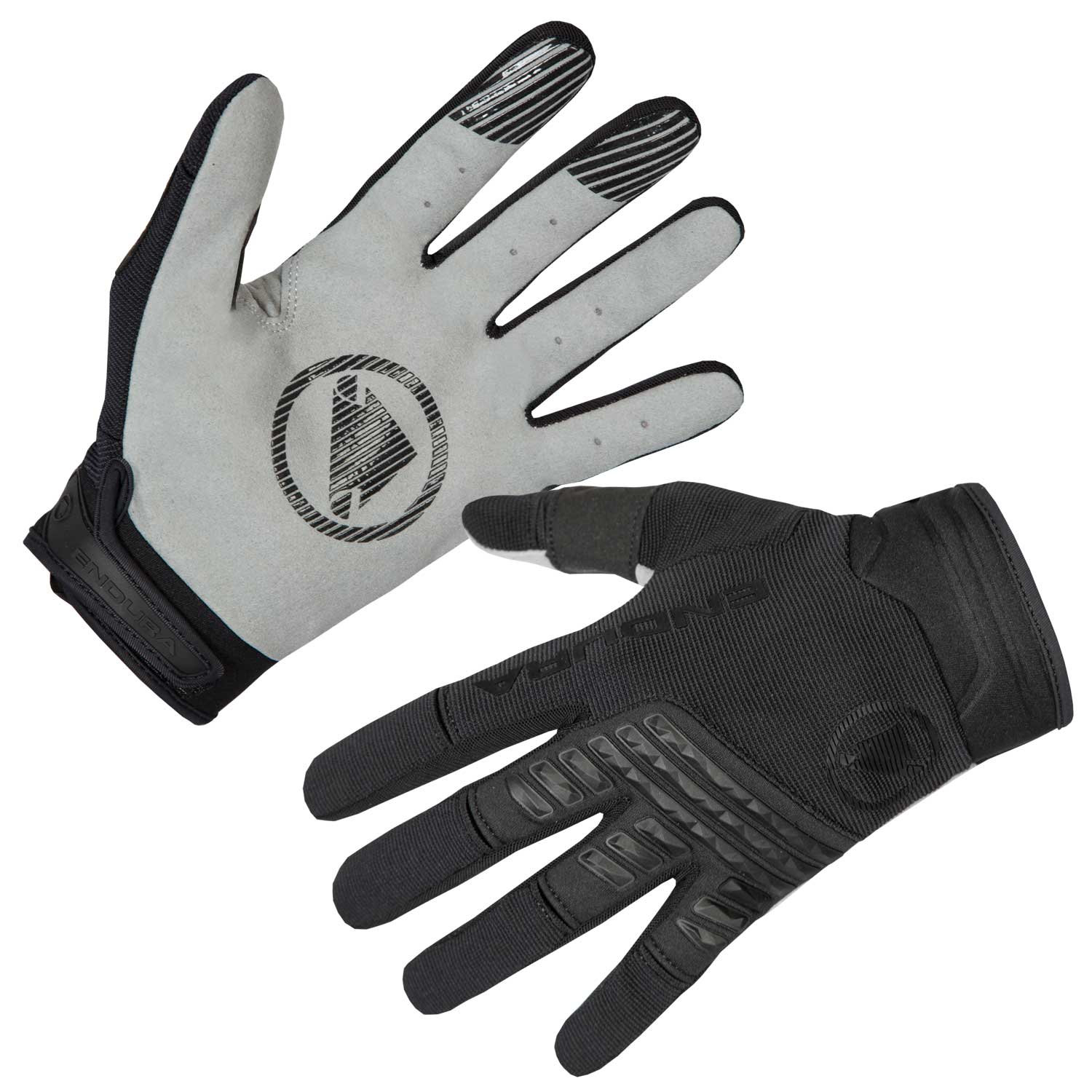 Endura SingleTrack Glove: Black XL