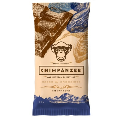 CHIMPANZEE -  ENERGY BAR Dates - Chocolate 55g