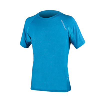 Endura SingleTrack Lite Wicking T: Ultramarine Xxl