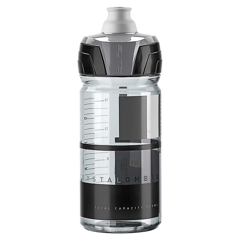 Elite láhev Crystal Ombra kouřová/šedá 550 ml