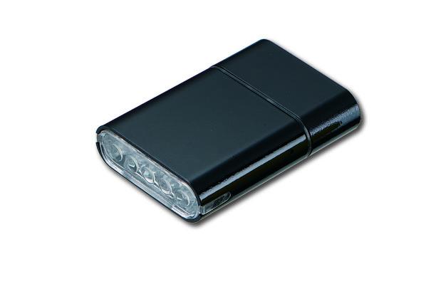 Owleye světlo přední Highlux 5 s Usb dobíjením černé