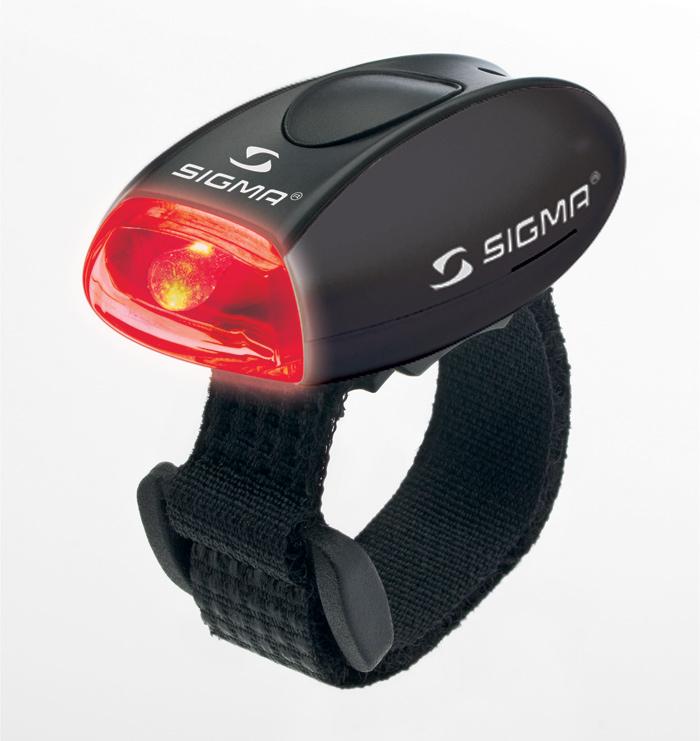 Sigma zadní světlo Micro černá / zadní světlo Led-červená Sigma Micro
