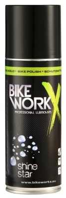 BIKE WORK - spray Shine Star na obnovu lesku laku