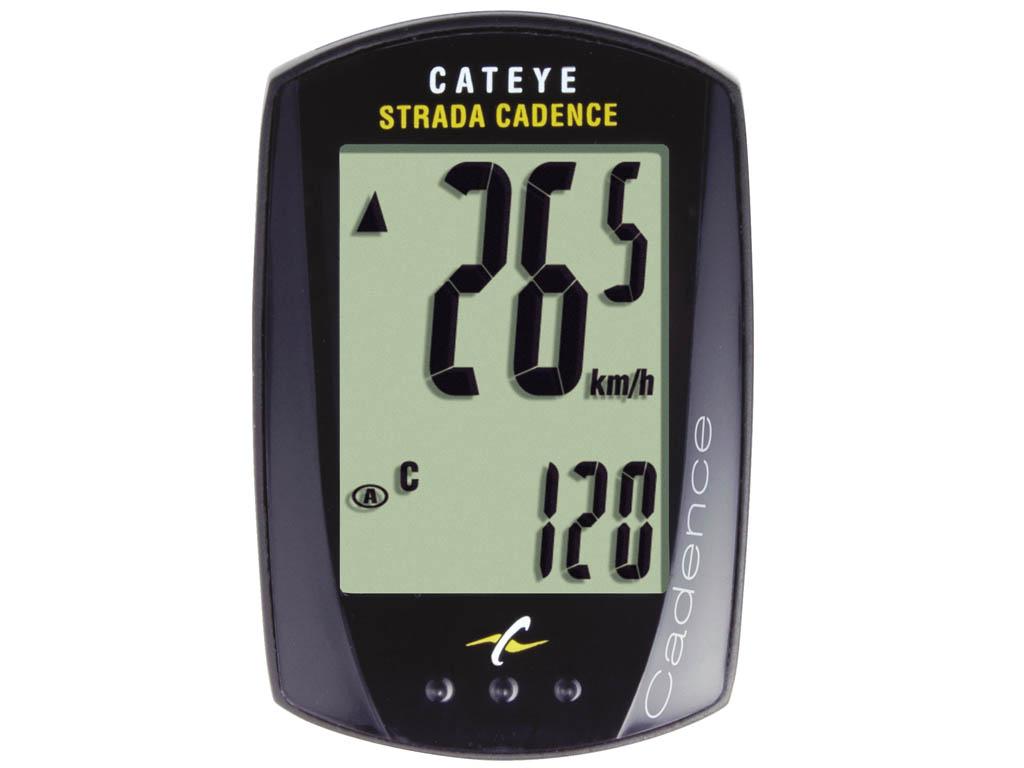 Cateye Cyklopočítač Cat Strada kadence Rd200 černá