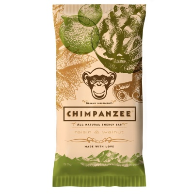 CHIMPANZEE -  ENERGY BAR Raisin - Walnut 55g