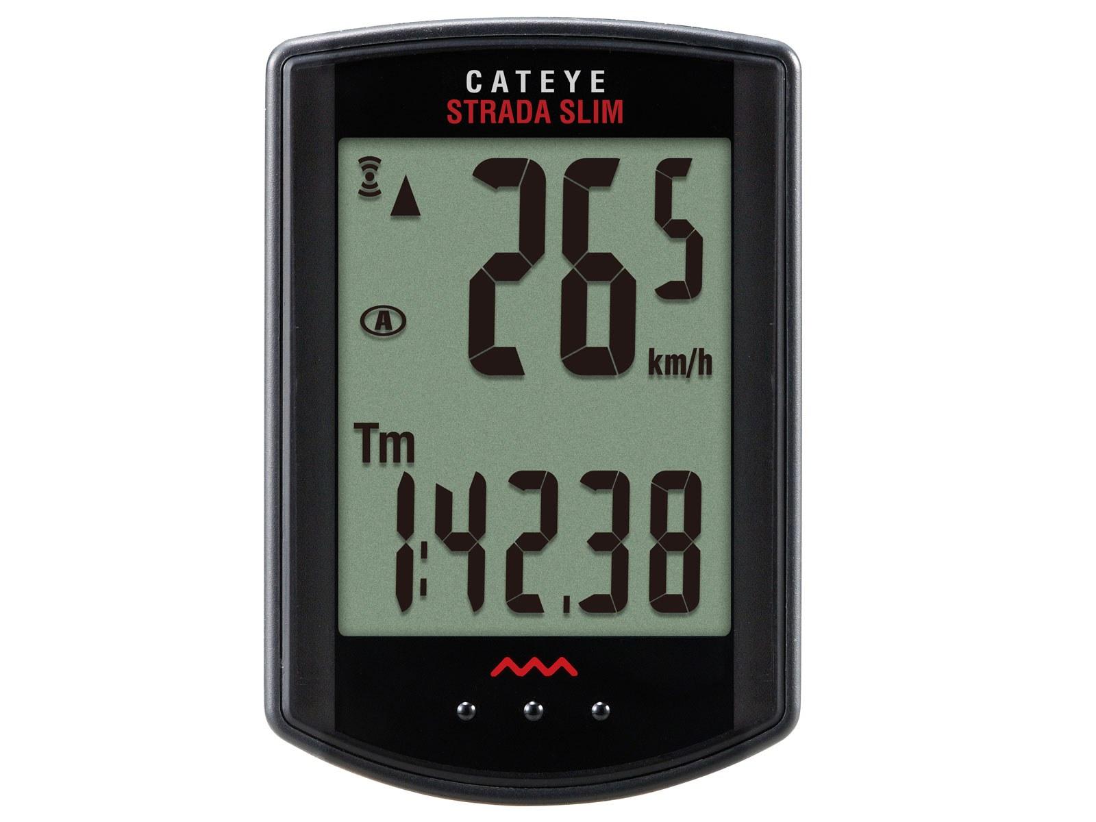 Cateye Cyklopočítač Cat Strada Wireless Mtb Rd310W černá