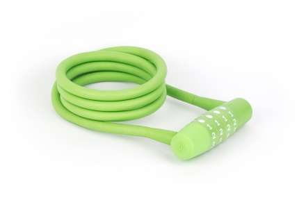 KNOG - Zámek Twisted combo - Lime