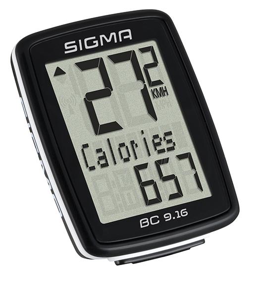 Sigma cyklo computer BC 9.16 drátový