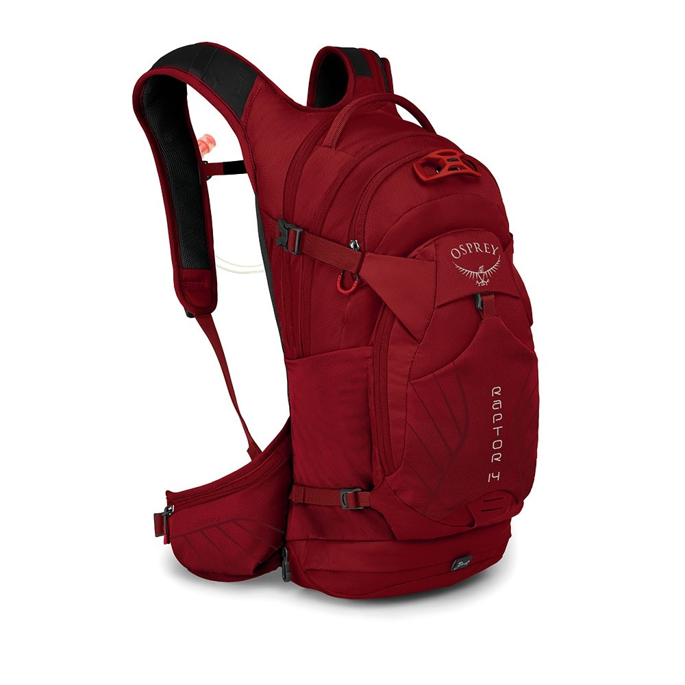 Osprey Raptor 14 Wildfire Red Uni